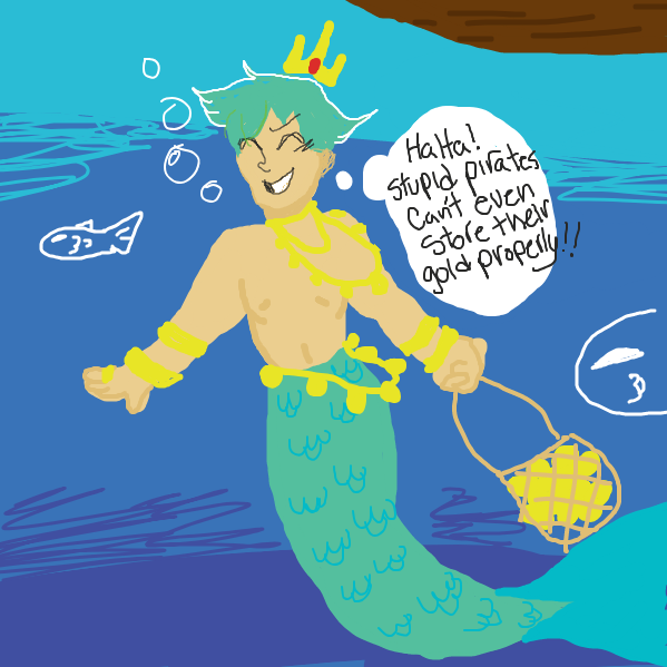 Liked webcomic merman