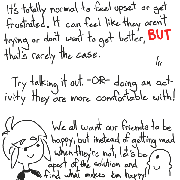 I'M NOT QUALIFIED TO GIVE OUT THIS KINDA ADVICE YAAAAAY! . . . . you guys did it better - Online Drawing Game Comic Strip Panel by Cake Emoji