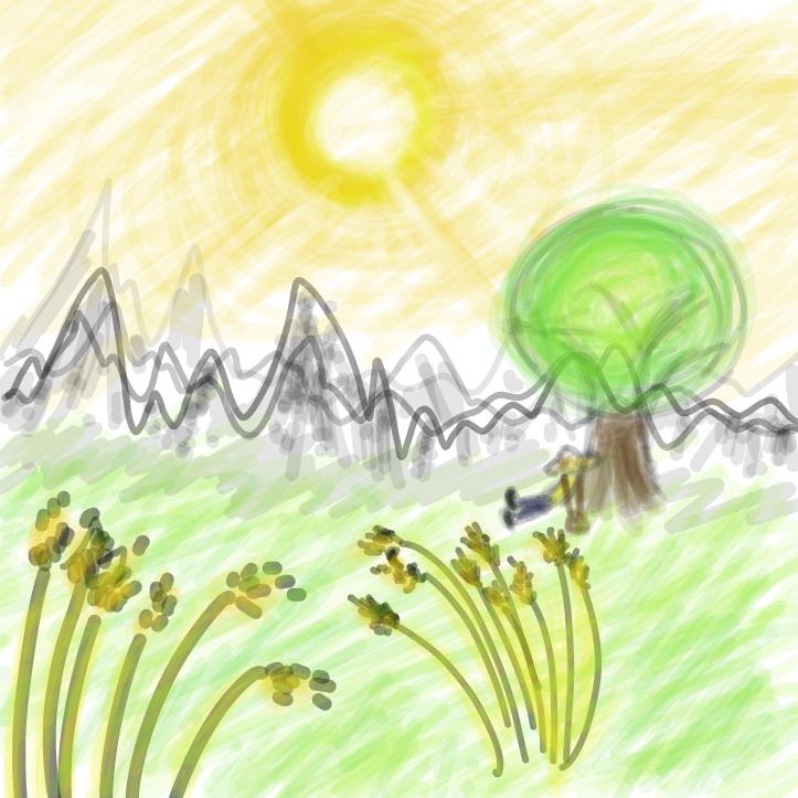 Drawing in idk by ItzAki