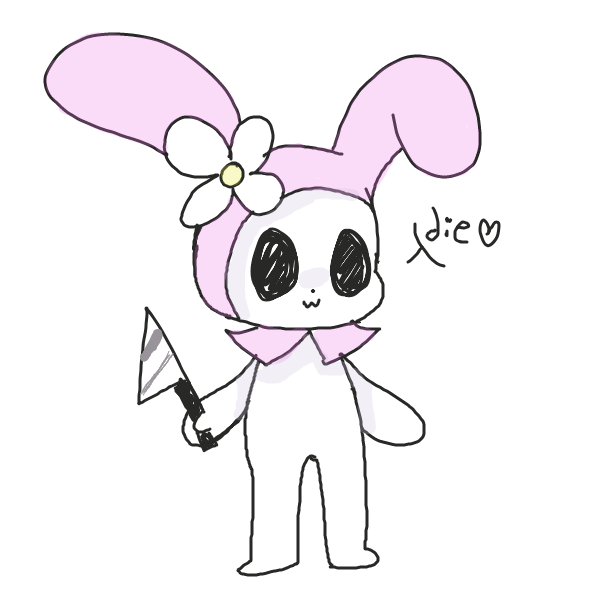 Drawing in my melody by pastelgoosey