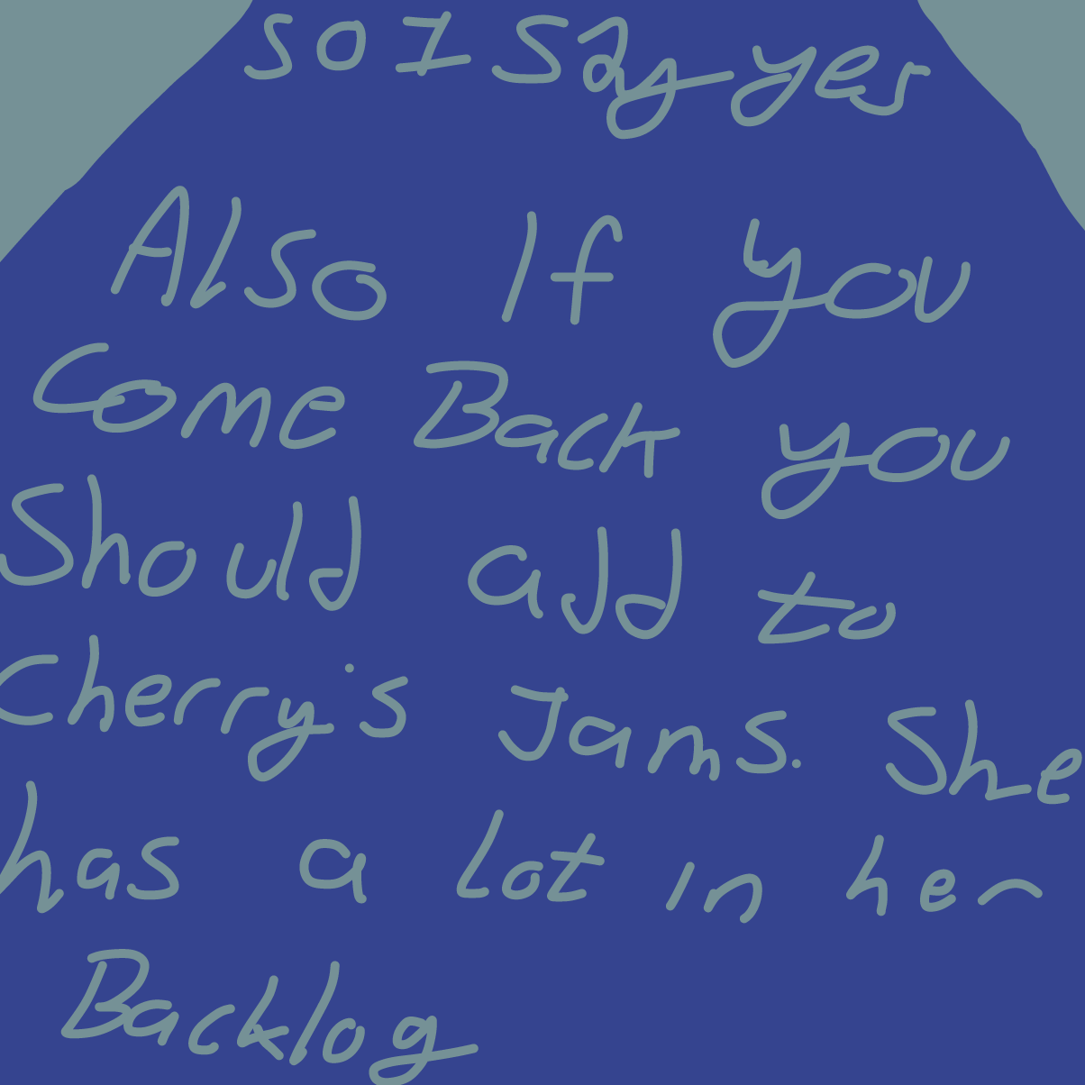 Drawing in Oh magic 8ball by CherryFlavored