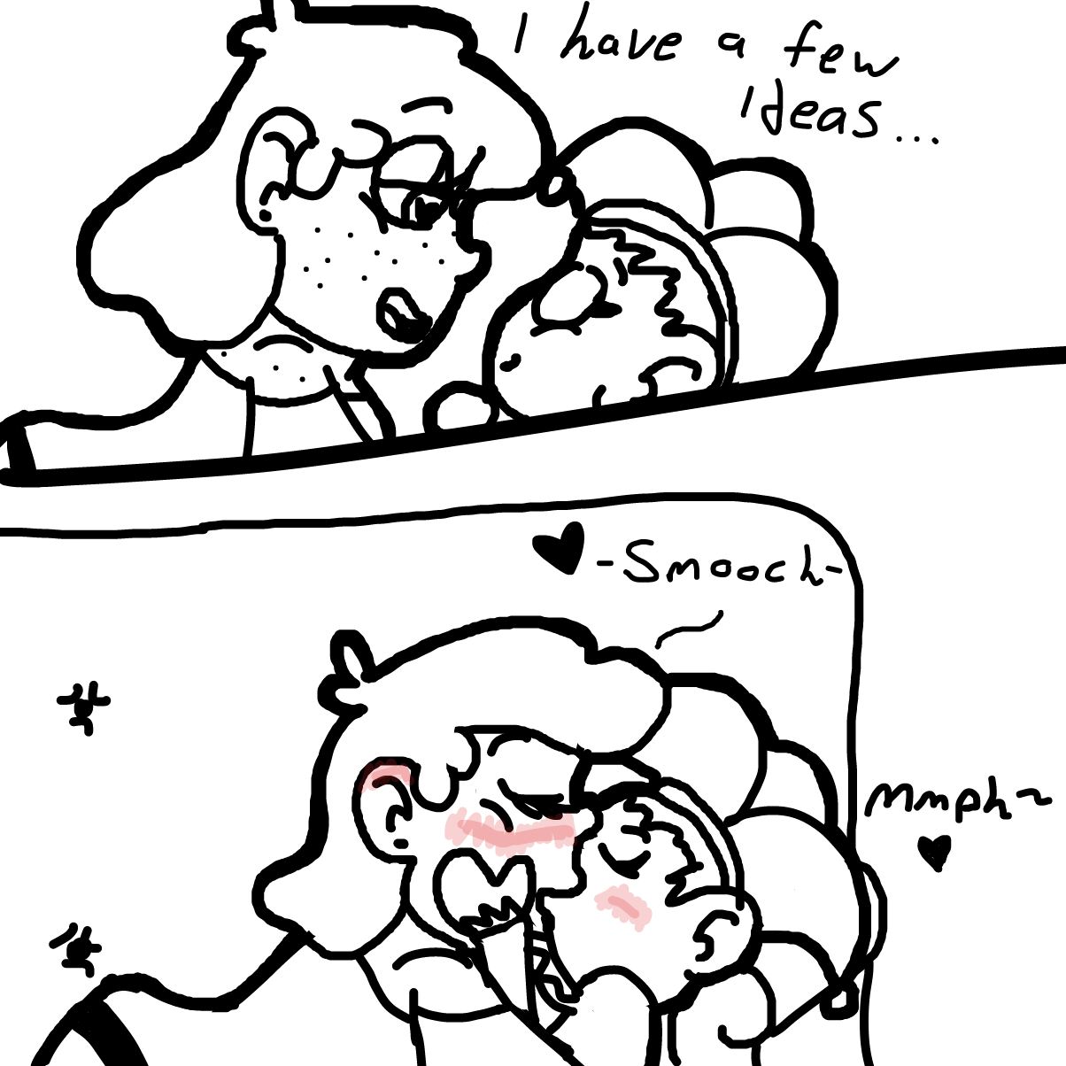 Drawing in Sleep Over by CherryFlavored