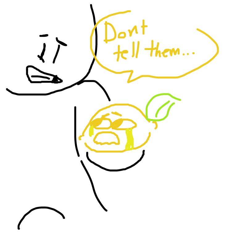 Drawing in Secret Lemon by masa