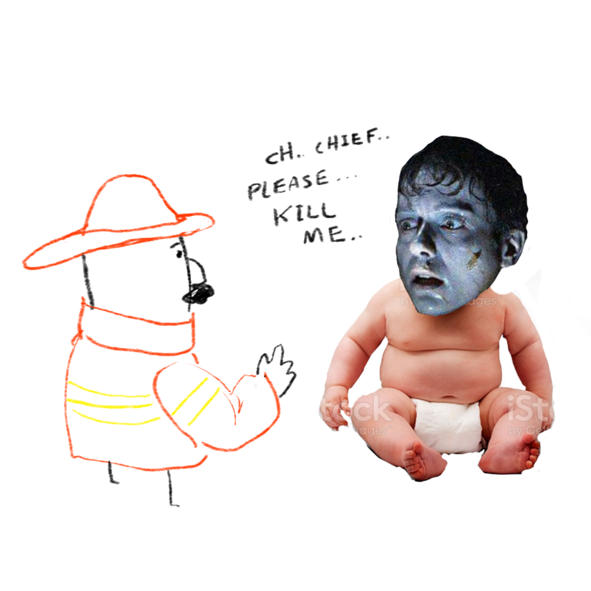 Drawing in Babby adventure by Potato Man