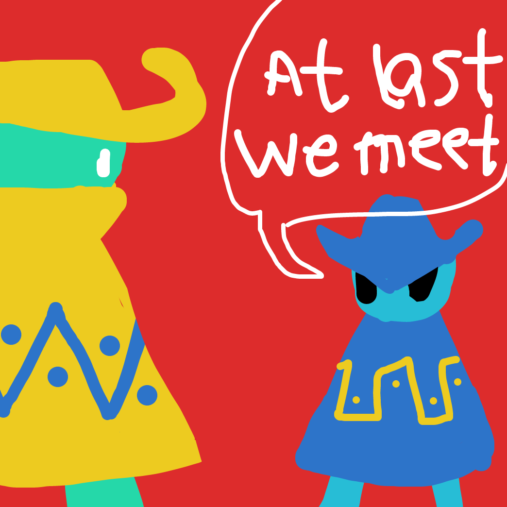 First panel in Phone Doodles: The Showdown drawn in our free online drawing game