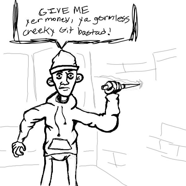 Drawing in Bri-ish peeople  by HelpMe