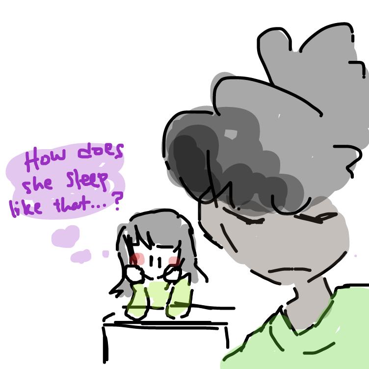 Drawing in Debra's School Day by masa