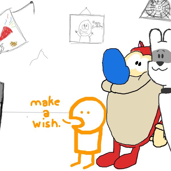 Drawing in Peekin' In by TheYellowMan
