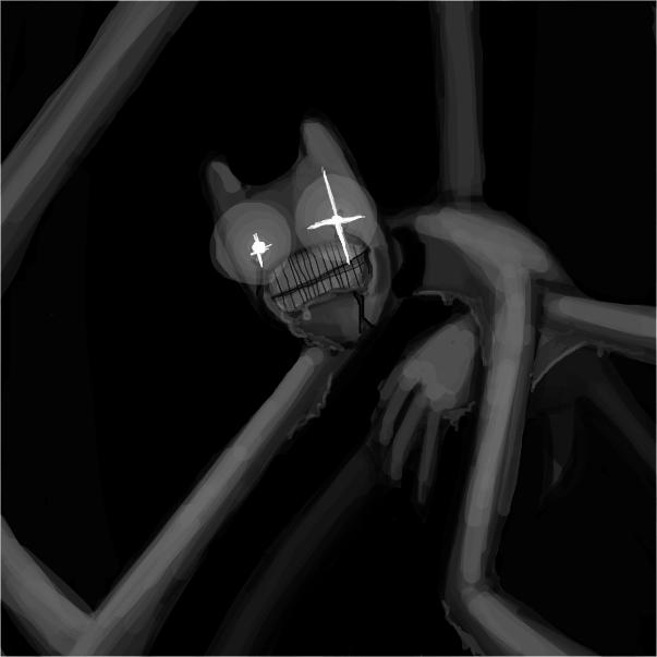 Drawing in Nightmare OCs by Sluggishfella