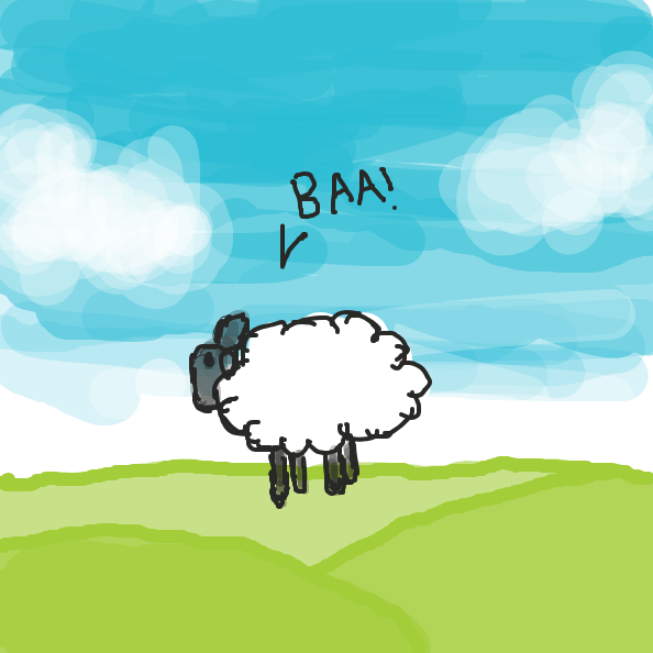 Liked webcomic A sheep