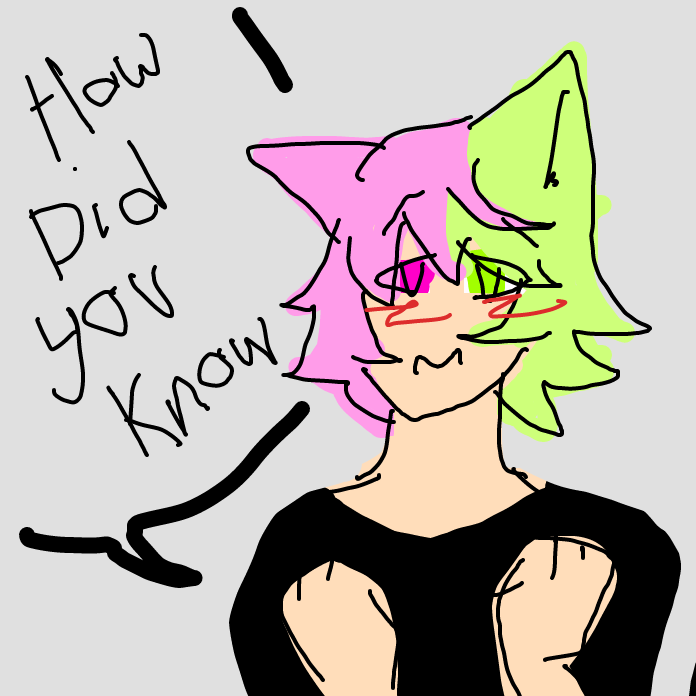 """"""" how did you know I wanted them!?"""" - Online Drawing Game Comic Strip Panel by MY~LEIGH"""