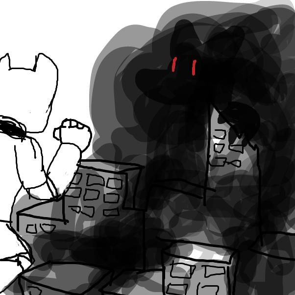 Drawing in Monstera Machina by Izzaro21