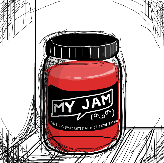 Drawing in I lost my jam by SeanTrunks