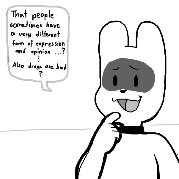 Drawing in my apologizing  by Sluggishfella