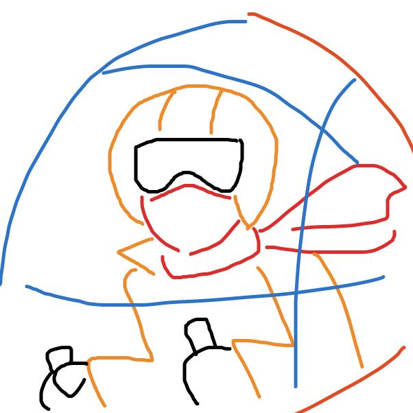 Drawing in Race Jam by SeanTrunks