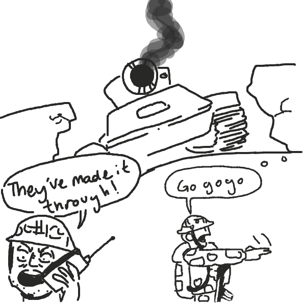 Drawing in Tank by Masterboog