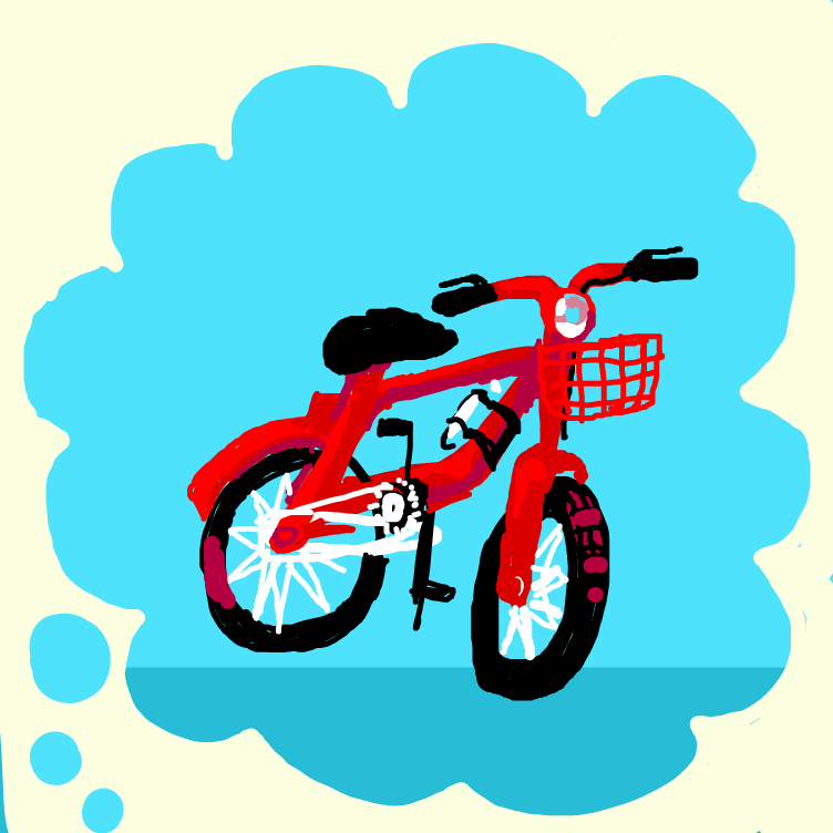 Drawing in Draw a bike from memory by The_Silent_Artist