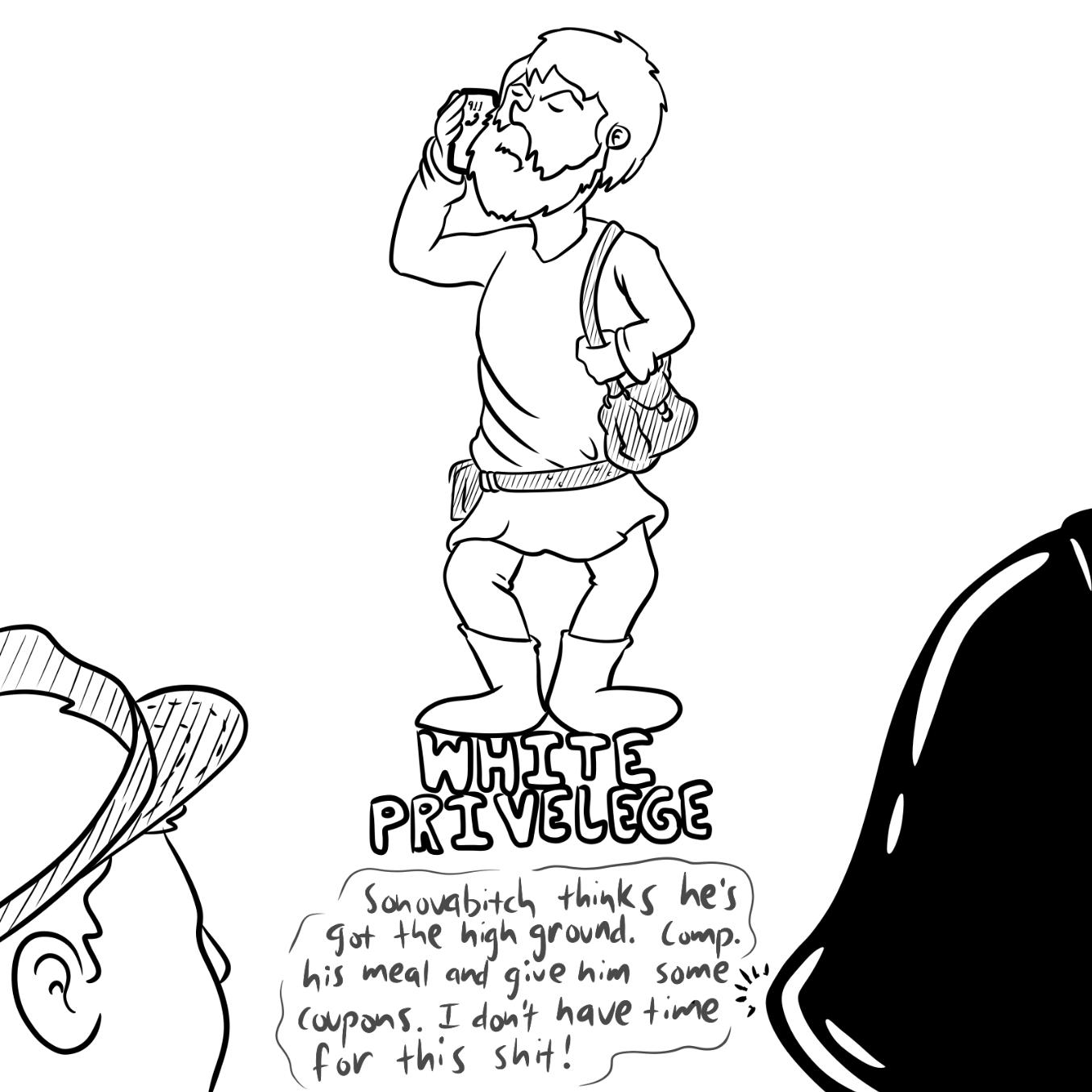 Drawing in Obi Wan Karen-obi by Wizard Croissant