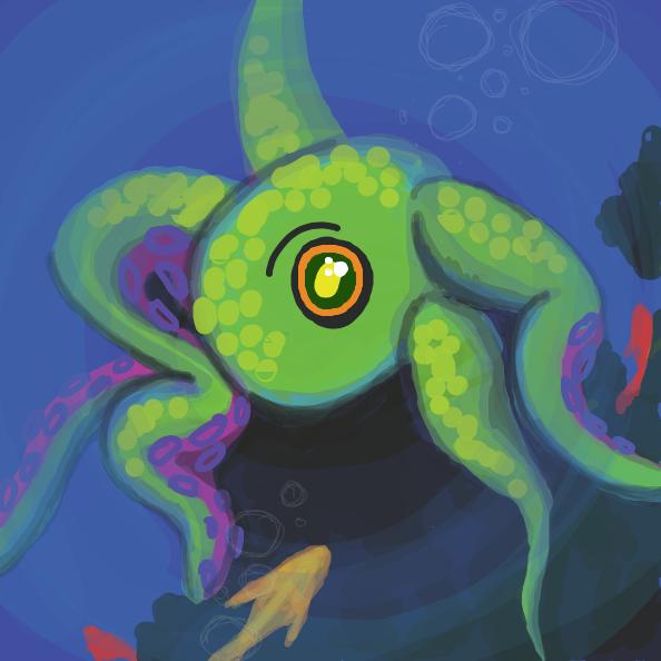 Drawing in Release the Kraken!  by Simply_Kali