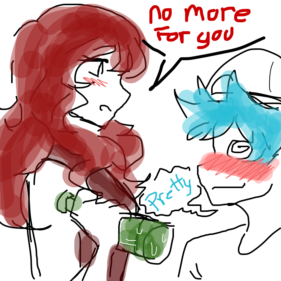 Drawing in Bf got drunk by MY~LEIGH