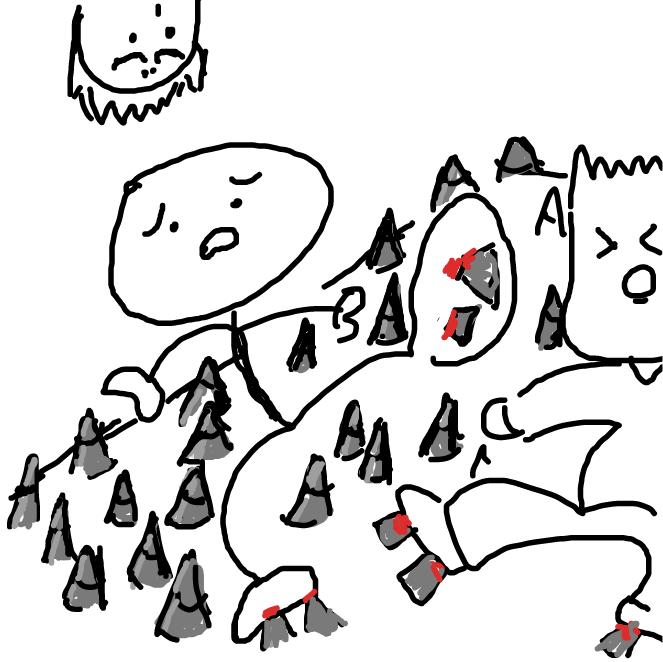 Drawing in SOMETHING (part 2) by esehara