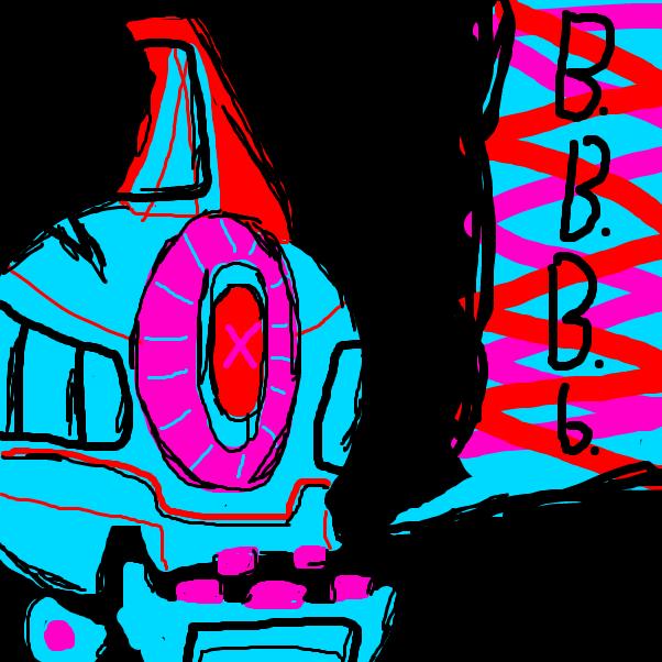 Drawing in RETINA BURN by Izzaro21