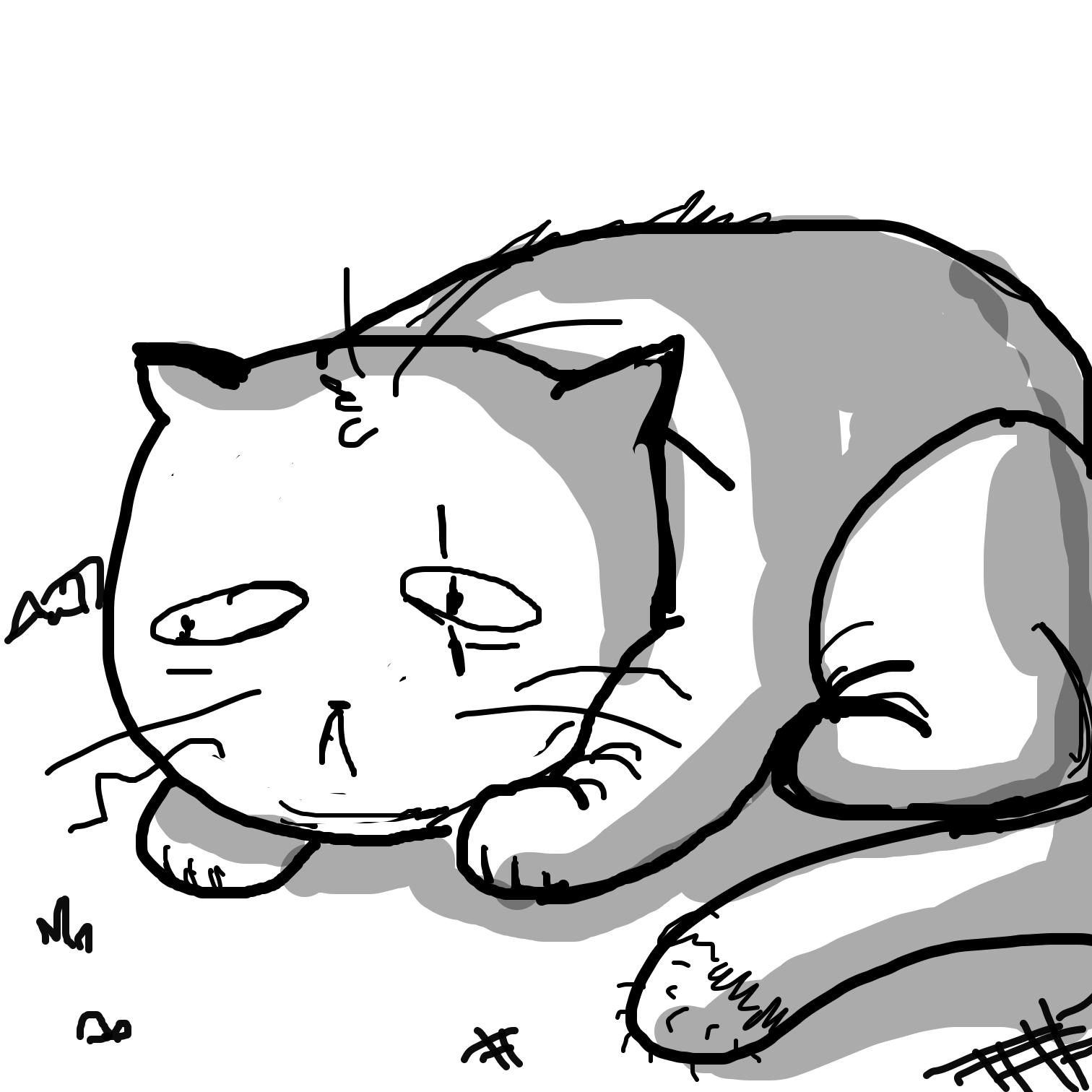 Drawing in Cat Goals by Juleefish
