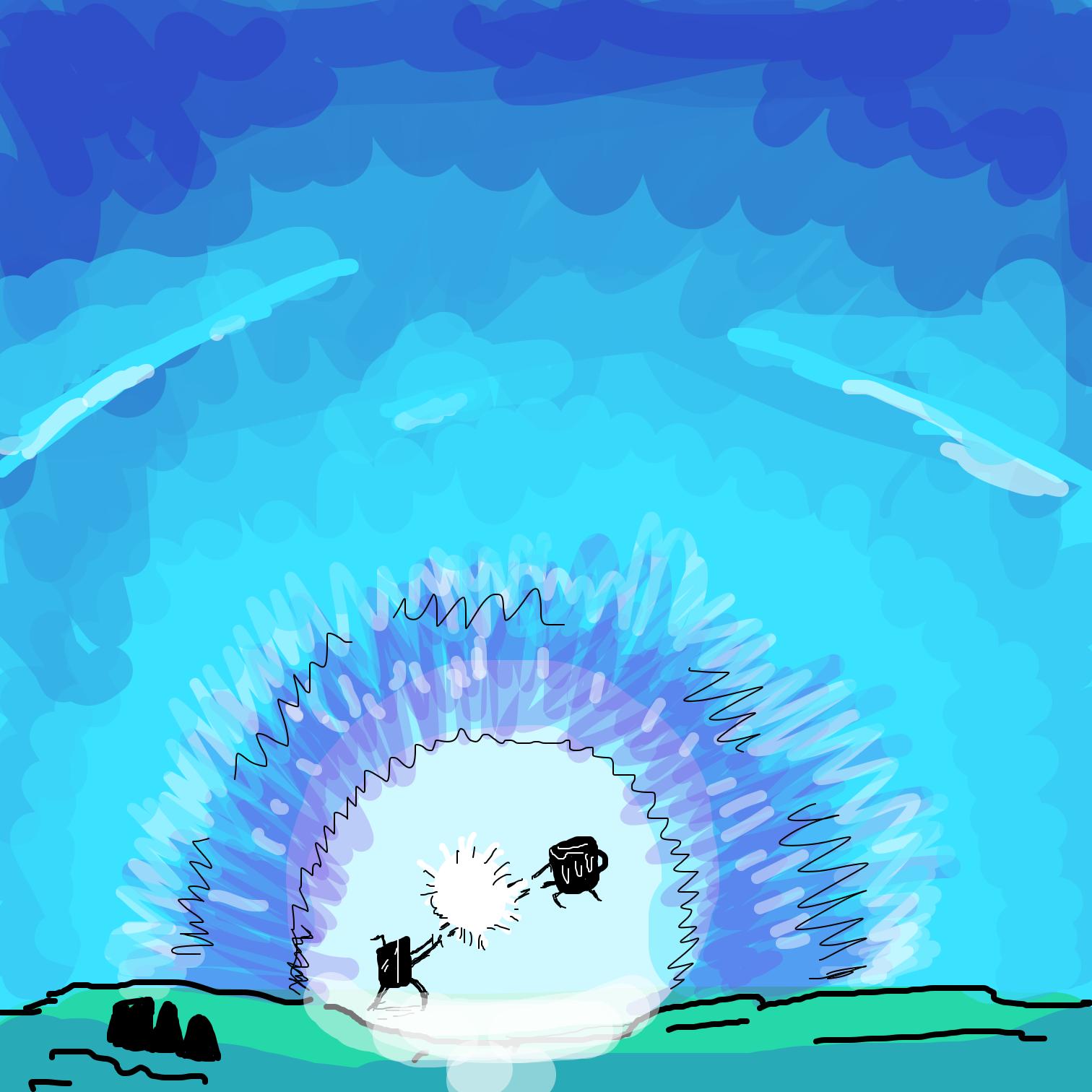 Drawing in Root Beer Kung Fu by Juleefish