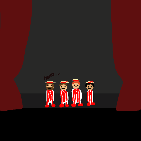 Liked webcomic Barbershop quartet