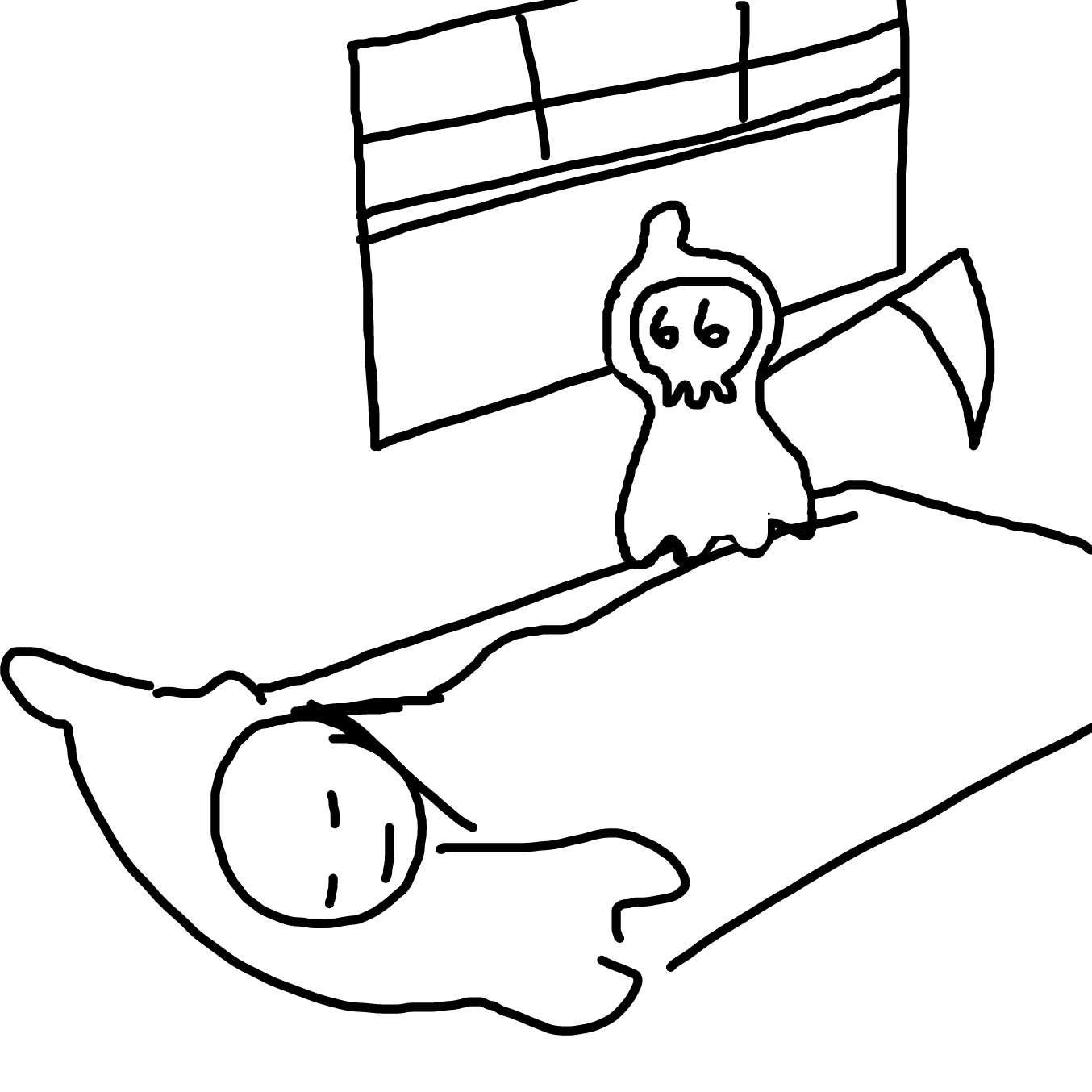 Drawing in Li'l Reaper 2: While U Sleep I Reap by TFD