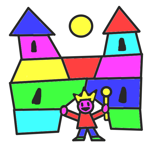 What happens in Kingdom Kindergarten? - Online Drawing Game Comic Strip Panel by St Anger