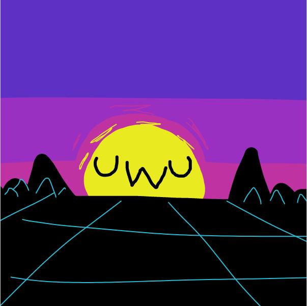 Drawing in VAPOR UWU by Sluggishfella