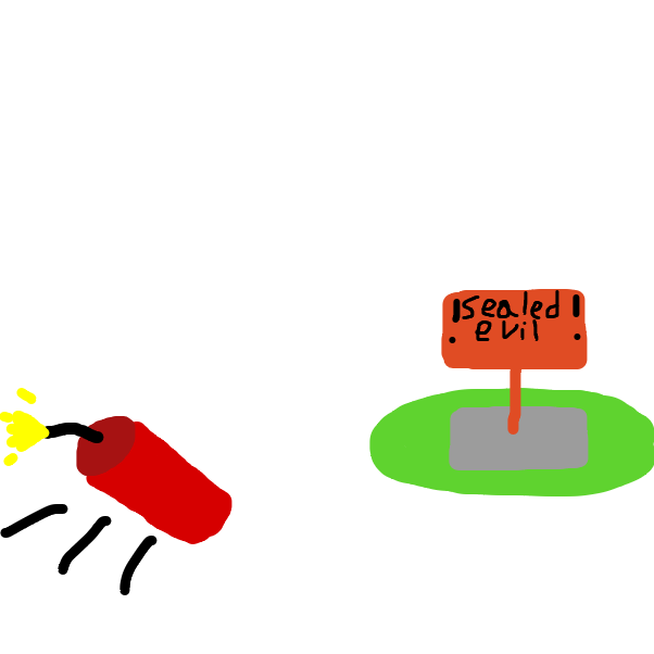 dynamite throw - Online Drawing Game Comic Strip Panel by SuperIced3