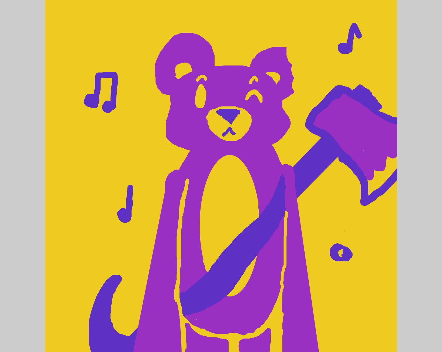 Drawing in 3 colors jam by LizardPie34