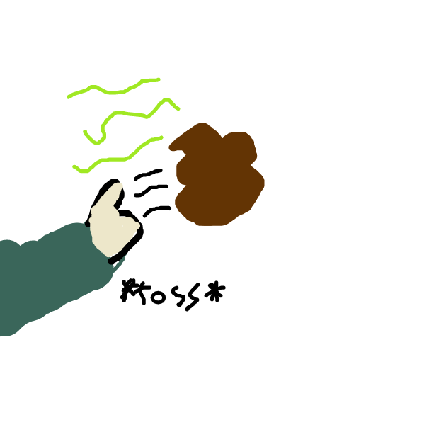 He throws some poop at her. - Online Drawing Game Comic Strip Panel by Monkey_HugLuv