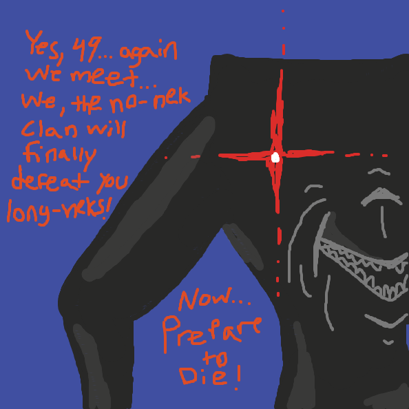 tried finishing background but striptogether kept glitching so I gave up.... - Online Drawing Game Comic Strip Panel by xavvypls