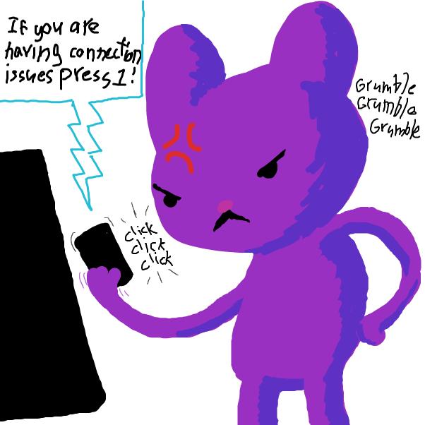 Drawing in Internet by SeanTrunks