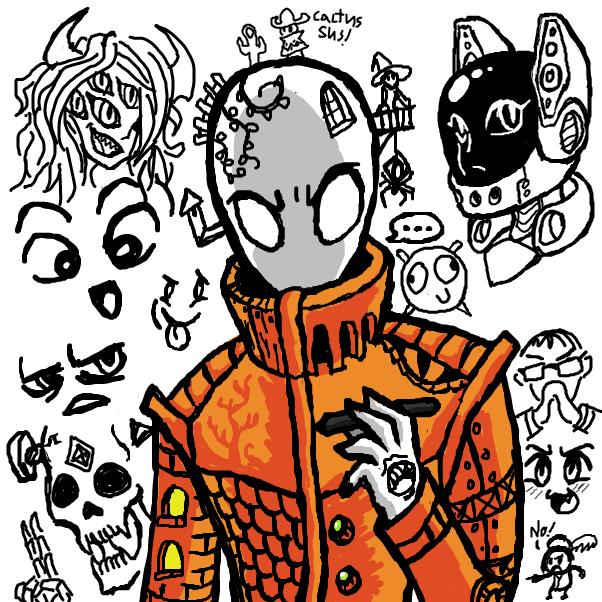 Drawing in ✍ by SeanTrunks
