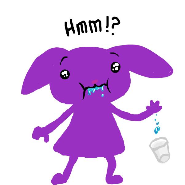 Drawing in Mick Drinks Water by SeanTrunks