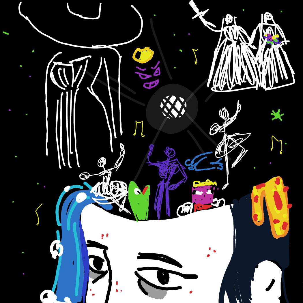 Drawing in maladaptive by Rednightlights