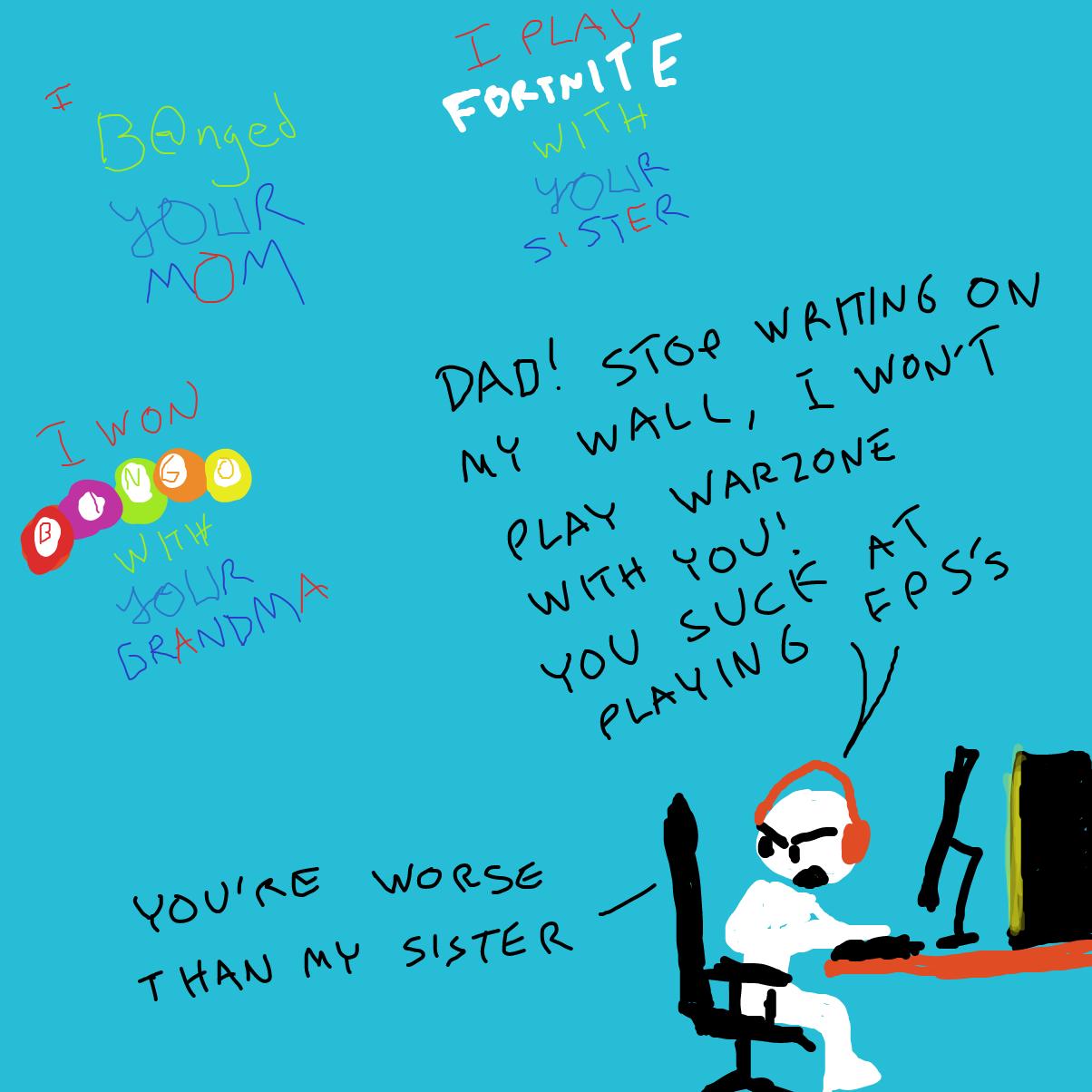 - Online Drawing Game Comic Strip Panel by Sabandija