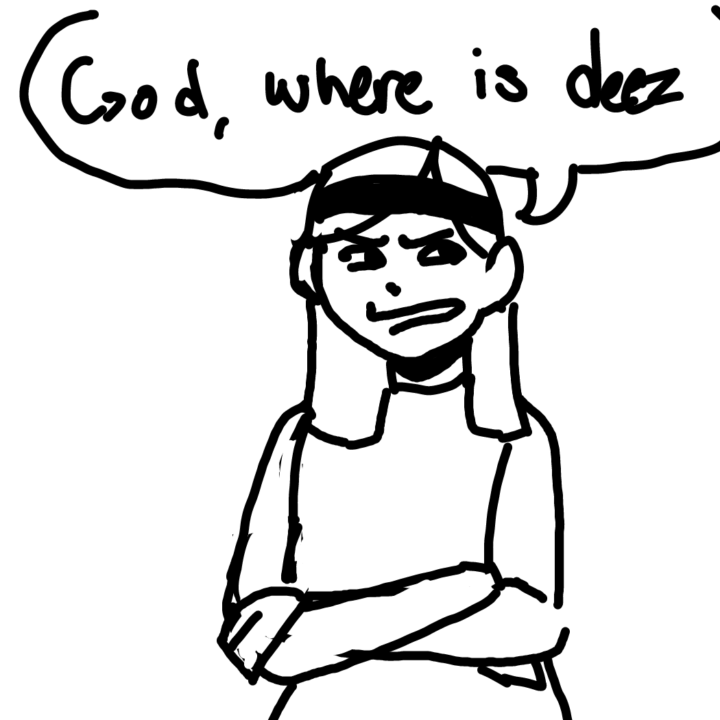 Drawing in Deez Nts by Rednightlights