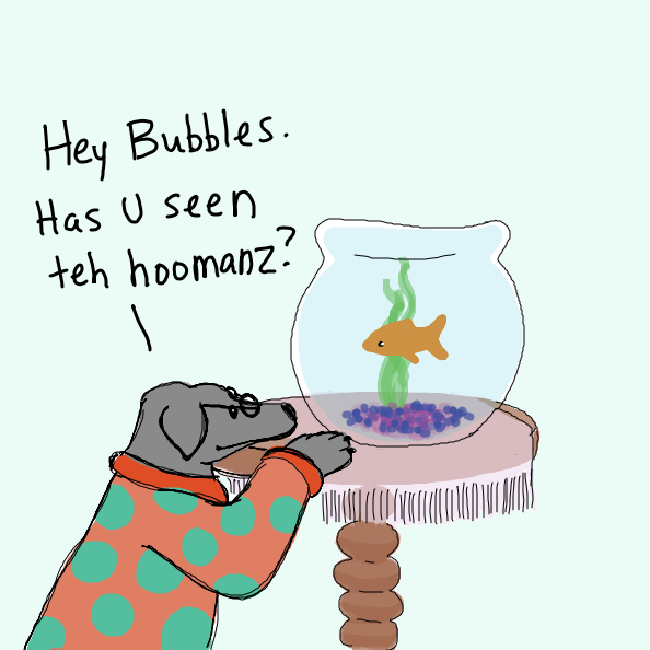 Where could the humans have gone? - Online Drawing Game Comic Strip Panel by Simply_Kali