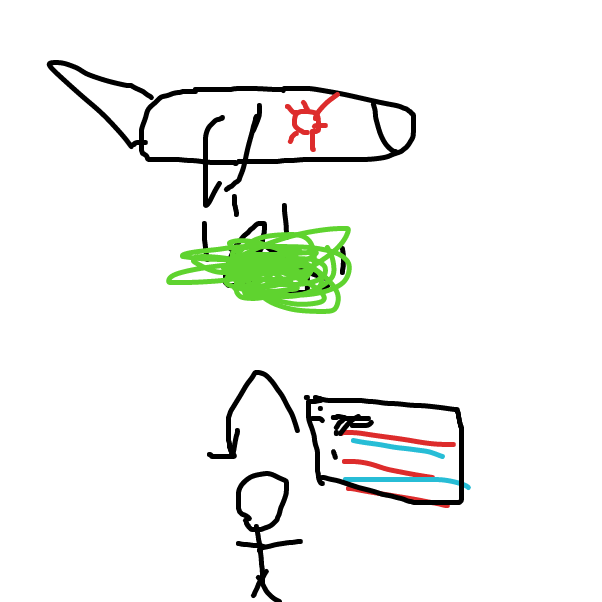 Drawing in Japanese attack on pearl thignshrboutt by Jkim