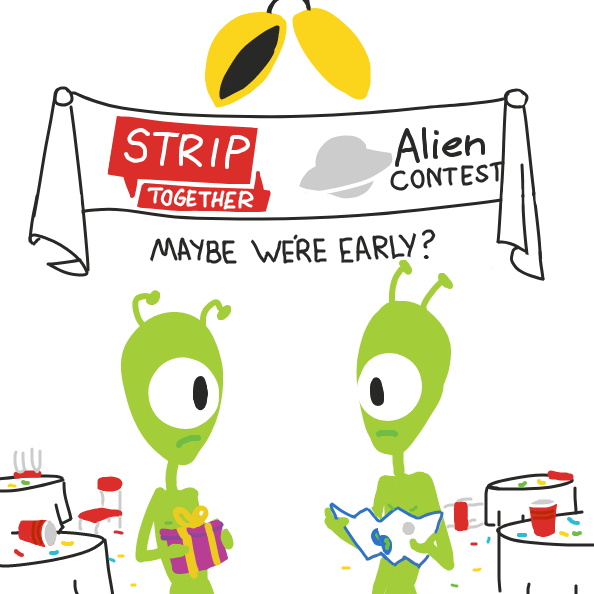 Liked webcomic Alien Contest . . .
