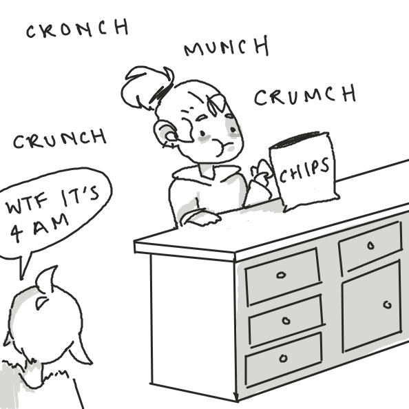 Drawing in Schleep . . .  by y3liak
