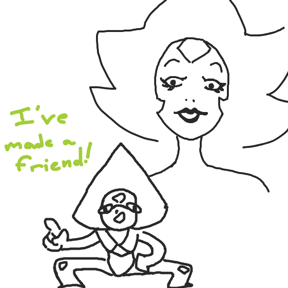 Drawing in Peridot by Taltri