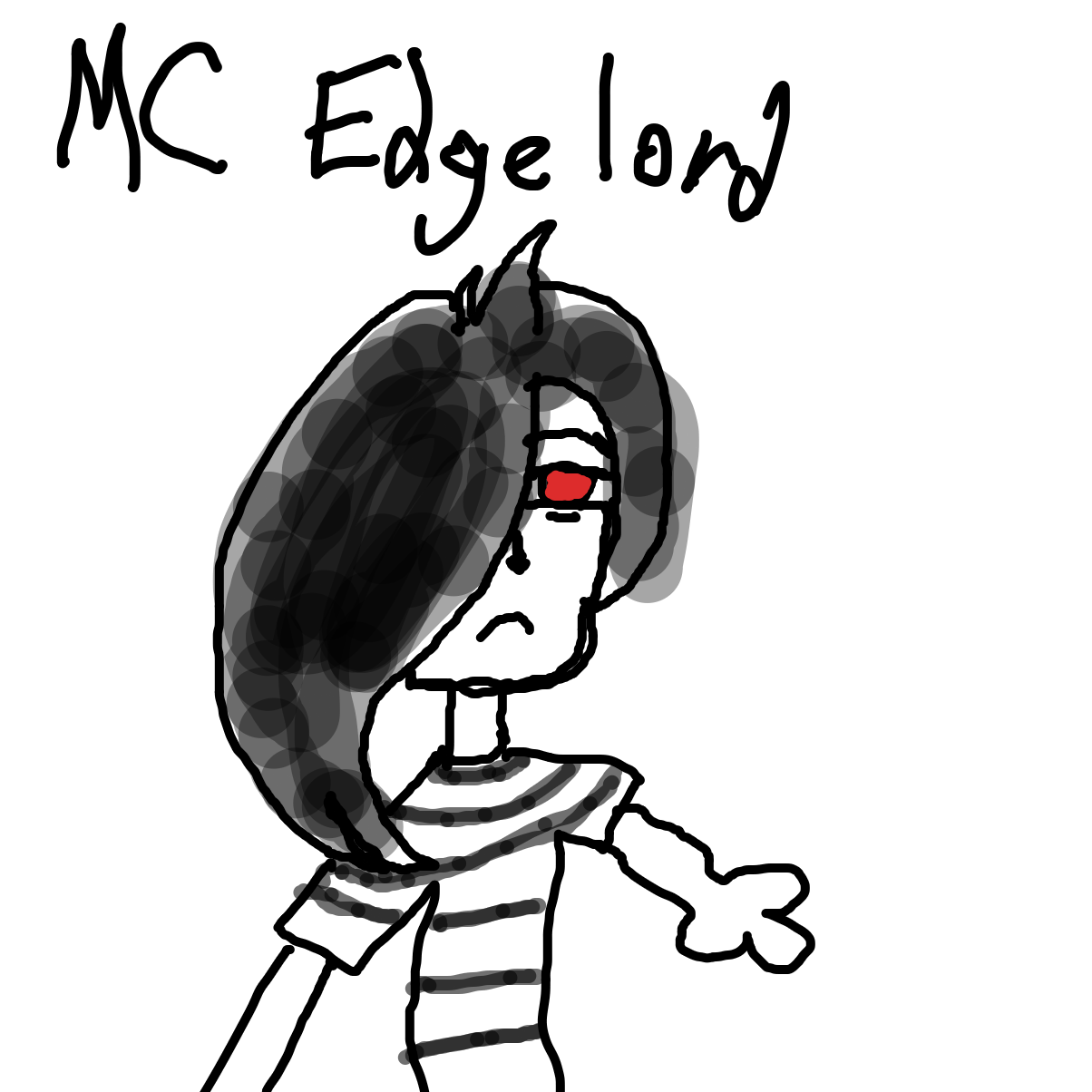 Drawing in Draw one of your oc's alter egos v3 by LizardPie34