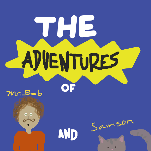 Drawing in The Adventures of Mr.Bob and Samson by mimi