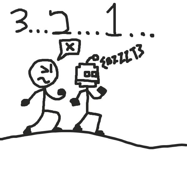 Liked webcomic The Big Race